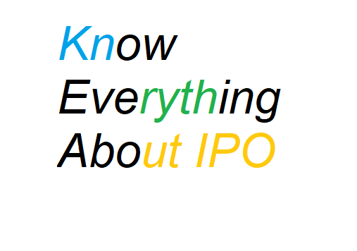 Initial Public Offering-IPO